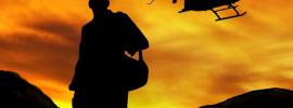 Praying_Medic_Background_Sunset_Chopper_Medic_Profile
