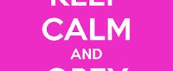 keep calm obey god