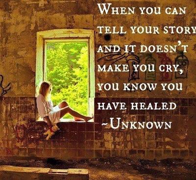 telling your story and emotional healing praying medic