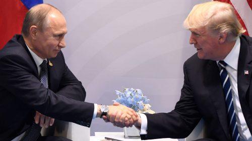 why president trump won't go to war in Syria Russia Iran praying medic