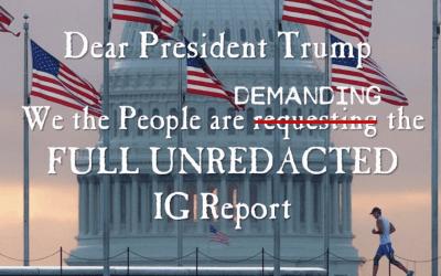 Q Anon June 15 – The DOJ IG Report