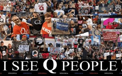 Qanon September 18 – Panic in DC