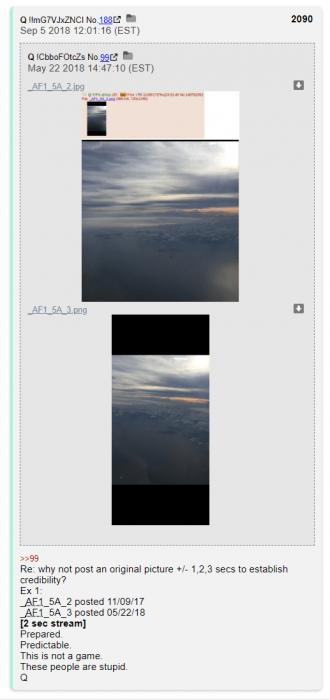 Qanon AF1 pics
