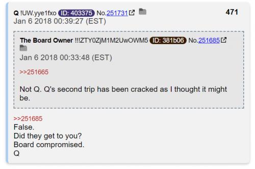 cbts board compromised qanon